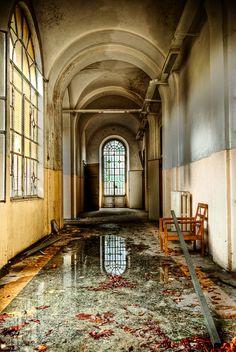 Abandoned psychiatric hospital near Milan, Italyby~Marco-art