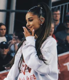 28fcc0628 Image about cute in Ari 🖤🐰 by ForeverAri on We Heart It. Ariana Grande ...