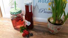 Sirup - Pimp your drink! - Beerengarten-Sirup mit Minze - ein Designerstück von Kraeuterkoerbchen bei DaWanda Pimp Your Drink, Gin And Tonic, Prosecco, Natural Flavors, Kraut, Preserves, Watermelon, Blueberry, Etsy