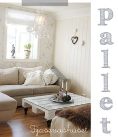 Pallet wood DIY