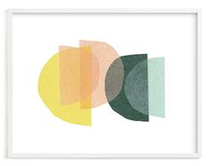 Abstract, Minimalist, Simple, Yellow, Pink, Green Limited Edition Art By Carrie Moradi. Citrus Limited Edition Art. White Wood Frame. Art, Art Print, Art Prints, Bright, Collage, Graphic, Half Circle, Hand Made, Mcm, Mid Mod, Print, Semi Circle, Texture, Tissue Paper, Transparency, Wall Art, Wall Decor . Art|art Print|art Prints|bright|collage|graphic|half Circle|hand Made|mcm|mid Mod|print|semi Circle|texture|tissue Paper|transparency|wall Art|wall Decor Art Print. Home Wall Art, Wall Art Decor, Wall Art Prints, Fine Art Prints, But Is It Art, Environmental Graphic Design, Art Store, Custom Art, Plexus Products