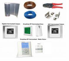 VH Infrarood Vloerverwarming - Doe-het-zelf basispakket - 80 Watt/m2 - Verwarminghandel