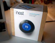 The Nest thermostat. Love it. These people need to make more home stuff.
