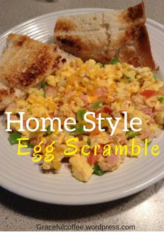 Home Style Egg Scramble Feat. Pete And Gerry's Eggs + Giveaway (9-15-16)