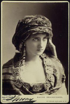 Maude Branscombe  1846-1890