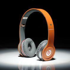 Beats By Dre Solo HD High Definition On-Ear Headphones Orange $108.90