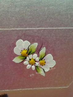 One Stroke Painting, Love Nails, Spring Nails, Hair Beauty, Nail Polish, Nail Art, Toenails Painted, Flower Nails, Finger Nail Painting
