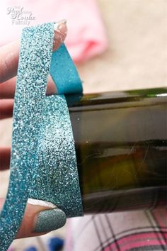 Wine Bottle Crafts are the best! This is to make diy wine bottles with ribbon and wood letters. Easy and pretty! Sponsored bottle crafts painted 26 Epic Empty Wine Bottle Projects – Don't Throw them Out… Repurpose Instead! Empty Wine Bottles, Recycled Wine Bottles, Wine Bottle Corks, Glass Bottle Crafts, Painted Wine Bottles, Diy Bottle, Glitter Wine Bottles, Decorative Wine Bottles, Crafts With Wine Bottles