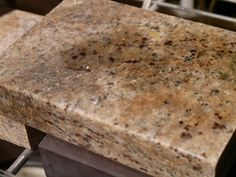 Dont have stains on my granite, better pin just in case. How to Clean Stains on Granite Green Cleaning, House Cleaning Tips, Diy Cleaning Products, Cleaning Solutions, Cleaning Hacks, Cleaning Supplies, Apartment Cleaning, How To Clean Granite, Washing Soap