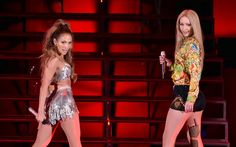 Jennifer Lopez & Iggy Azalea performs live in Hollywood