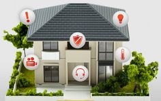 Smart home depiction