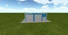 3D #architecture via @themuellerinc http://ift.tt/1S9DmMO #barn #workshop #greenhouse #garage #DIY