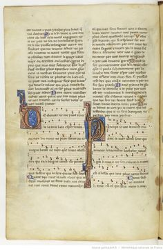 Chansons notées et jeux-partis ; [Mere au Sauveour] ; « Maistre WILLAUMES LI VINIERS » ; « LI PRINCE DE LE MOUREE » ; « LI CUENS D'ANGOU » ; « LI QUENS DE BAR » ; « LI DUX DE BRABANT » Date d'édition :  1201-1300  Français 844  Folio 69v