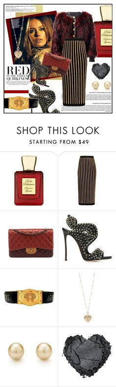 """""""Balmain + Chanel"""" by zarabatavia ❤ liked on Polyvore featuring Bella Bellissima, Balmain, Chanel, Dsquared2, Betsey Johnson, women's clothing, women, female, woman and misses"""