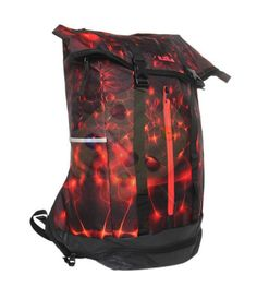 """Lebron Ambasador Bagpack by Nike. Bring everything you need with the Nike LeBron Ambassador Backpack.      15 """"padded laptop section, separate shoe compartment, and double side pockets.      Adjustable, curved shoulder straps fit comfortably and personal.      Waterproof tarps down and padded back panel protect your goods  Reflective elements increase visibility in low light.      Formidable 600 - denier polyester has a long durability. http://www.zocko.com/z/JJvbJ"""
