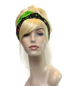 Cherry Headband, Headbands for Teens, Stocking Stuffers, Pin Up Girl Headband, Spring Headband, Summer Headband, Tween Girl Gifts by foreverandrea on Etsy