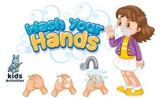wash-your-hands-posters Wuhan, Hand Hygiene Posters, Hand Washing Poster, Hand Fonts, Free Poster Printables, Sick Boy, Girl Cartoon Characters, Cool Coloring Pages, Borders For Paper