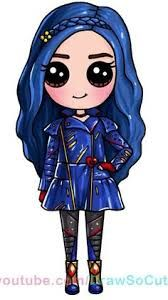 Descendants 2 – Evie is my favorite character in the whole entire movie!… Descendants 2 – Evie is my favorite character in the whole entire movie! Kawaii Girl Drawings, Cute Disney Drawings, Cute Easy Drawings, Cute Girl Drawing, Cute Animal Drawings, Cartoon Drawings, Cute People Drawings, Disney Kawaii, Disney Disney