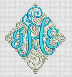 Our Adorn Ornamental Monogram design has been SO popular!! Now...who thinks they would be interested in a customizable 3 letter version?? :)