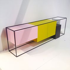 Modular storage unit by Koenraad Ruys for Moca