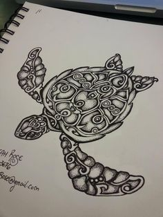 Tattoos have been and are still a big part of many to this day, and many people have one or more tattoos on their bodies. Many different cultures embrace tattoos, and they can bear many different m… Kunst Tattoos, Body Art Tattoos, Tattoo Drawings, Ocean Tattoos, Sea Turtle Tattoos, Tribal Tattoos, Sea Turtle Drawings, Tatoos, Maori Tattoos