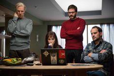 Daniel Brühl as Daniel Domscheit-Berg and Benedict Cumberbatch as Julian Asange in The Fifth Estate #obejrzane #nudne