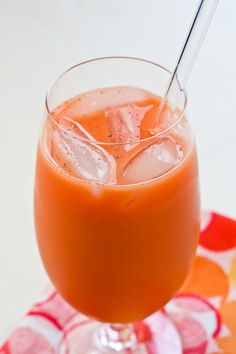 Jamaican Carrot Drink--I want some so bad right now.