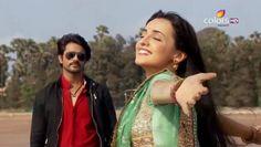 Ashish Sharma (Rudra) and Sanya Irani (Paro) rangrasiya حبيبي دائما