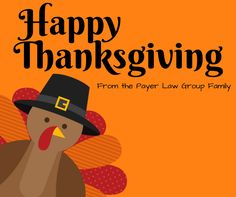 Wishing you a #HappyThanksgiving from all of us at Payer Law Group! #GoobleGooble