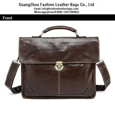 5a8ae3368d Mens Genuine Leather Shoulder Bag Vintage Messenger Bag 2018 wholesale men  bags FS2123 Men s Briefcase