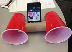 Homemade speakers...BRILLIANT!