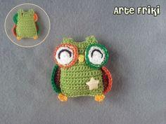 Búho amigurumi owl