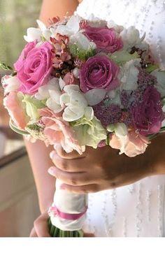 Bouquet com mix de flores