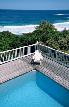 Above Ground Pool Deck Design