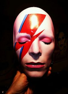 Bowie Mask by Mark Wardel