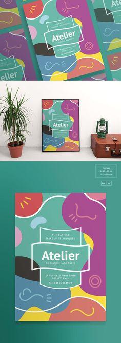 Posters Art Lessons Flyer Templates Flyer Templates - workshop flyer template