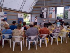 """""""Grain Market presentation with Moe Agostino in 5 minutes in the pavilion"""" Farm Show, Business Centre, Risk Management, Farms, Pride, Presentation, Outdoor, Outdoors"""