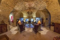 Château Renovation North Dordogne - Summer Living Room Finished