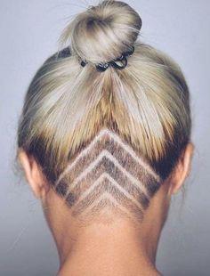 Undercut Hairstyles Women, Hairstyles With Bangs, Trendy Hairstyles, Black Hairstyles, Undercut Women, Wedding Hairstyles, Hairstyle Ideas, Roman Hairstyles, Ladies Hairstyles