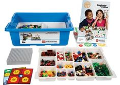 LEGOs are great for building critical thinking skills, fine motor control, and problem solving strategies. You can purchase a story starter kit like this to jumpstart creativity, or build your own from loose blocks. Fun Learning, Teaching Kids, Learning Tools, Learning Resources, Classroom Solutions, Improve Communication Skills, Lego Kits, Lego Club, Software