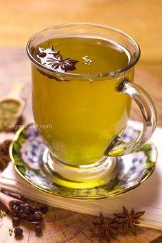 Juniper Berry, Star Anise and Fennel Tea | Home Remedy for Bloating, Gas and…