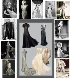 """""""1930s Hollywood Sirens"""" by alynncameron ❤ liked on Polyvore"""