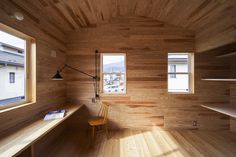 Minimalist Japanese House Designs - Renthouse Interior by MTArchitects