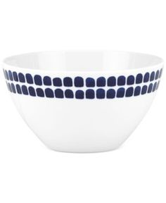 kate spade new york Charlotte Street North Soup/Cereal Bowl - White/Blue