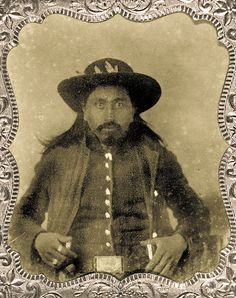 To the Cherokee people, Zeke Proctor was a hero. To the U.S. Marshals Service, a murderer. He's shown here, circa 1868, four years before an altercation that would lead to the largest single loss of life in the history of the marshals agency.