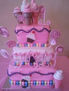 I want to make something like this for Rhylynns birthday this year. Maybe add Hello Kitty.