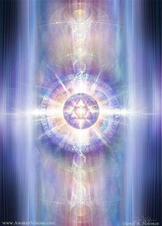 Starseed Clearing and Universe Channeling Reading – ET Remote Holistic Spiritual phone call – energy clearing - spiritualityenergy Photo Nom, Art Visionnaire, Les Chakras, Meditation, Visualisation, Visionary Art, Angel Art, Sacred Art, Fractal Art