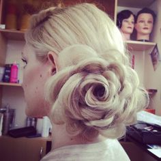 The flower braid.. Really easy to do.. You can look it up on YouTube..