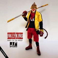 TOYSREVIL: Revealed: MONKEY KING from Journey to the West Series #1 by J.T Studio