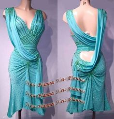 L857 women Ballroom Rhythm salsa Latin samba swing dance dress US 8 sexy